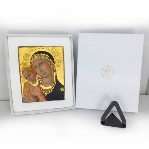 "Affresco riproduzione Cimabue ""San Francesco"" XIII sec"