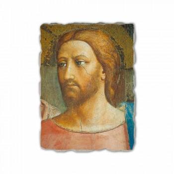 """Affresco riproduzione fatto a mano Masaccio """"Il Tributo"""""""