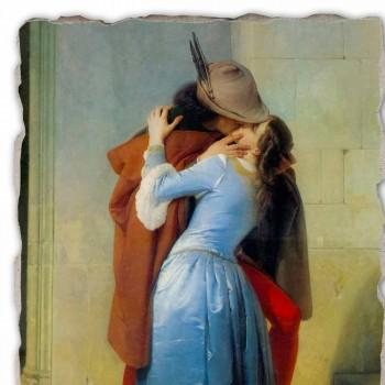 Affresco riproduzione grande fatto in Italia Hayez Il Bacio