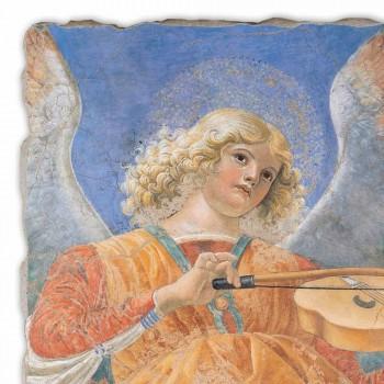 """Affresco riproduzione Melozzo da Forlì """"Angelo Musicante"""""""