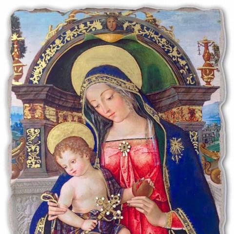 Affresco riproduzione Pinturicchio Pala di S. Maria dei Fossi