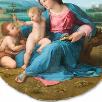"""Affresco riproduzione Raffaello Sanzio """"Madonna d'Alba"""", 1510"""