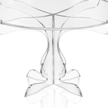 Alzata per Dolci in Plexiglass Trasparente 2 Misure Made in Italy - Sistina
