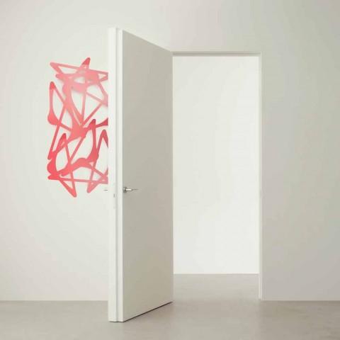 Attaccapanni Verticale A Muro.Appendiabiti A Muro Design