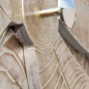 Appendiabiti da muro di design a forma di palma a 5 pomelli Timothy