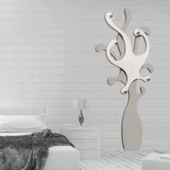 Appendiabiti da parete di design con effetto madreperla Corey