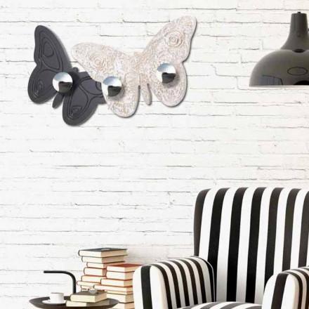 Appendiabiti da parete di design Melitea by Viadurini Decor