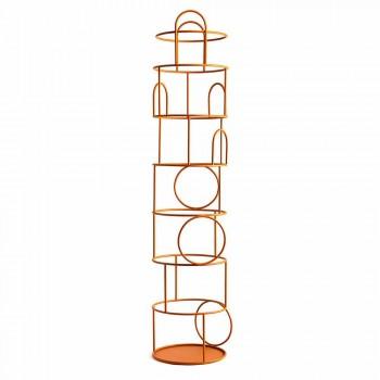 Appendiabiti da Terra di Design in Acciaio Colorato Made in Italy - Vituzzo