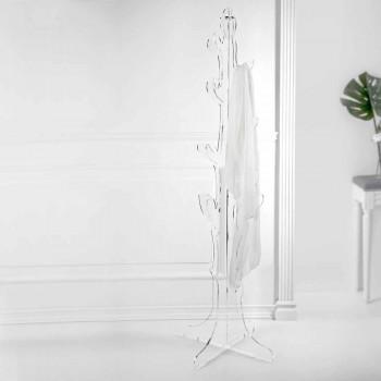 Appendiabiti da Terra in Plexiglass Trasparente Design da Ingresso - Alibi