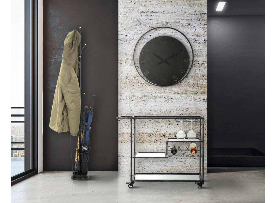 Appendiabiti Portaombrelli da Terra di Design Moderno in Ferro - Melli