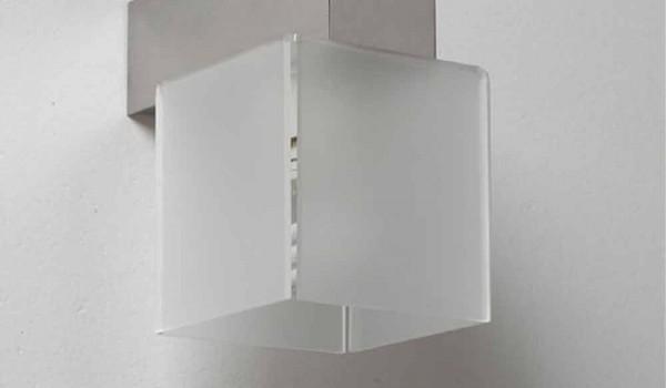 Applique con paralume design moderno l.11 x p.11cm matis