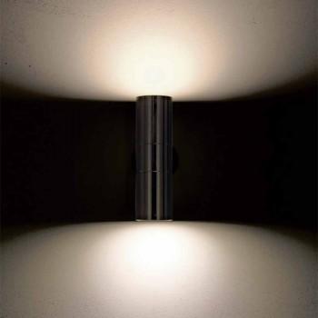 Applique da esterno a doppia emissione in ottone Abarth 204
