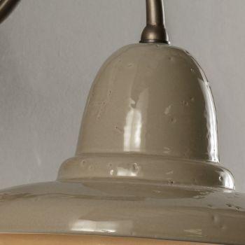 Applique da Esterno Artigianale in Galestro Made in Italy - Toscot Spoleto