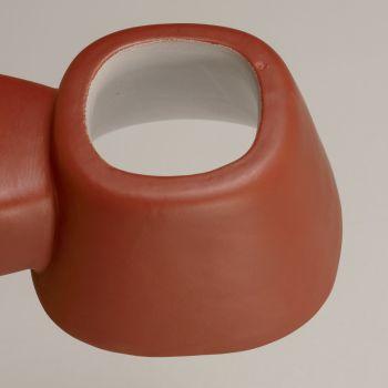 Applique da Esterno Artigianale in Maiolica Toscana Made in Italy - Toscot Tobo