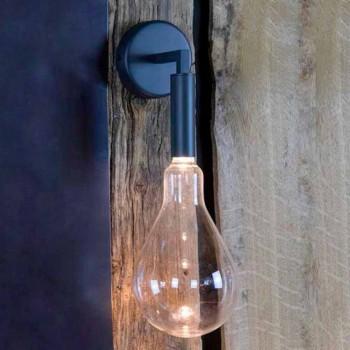 Applique da Esterno in Ferro e Alluminio con LED Incluso Made in Italy - Luccico
