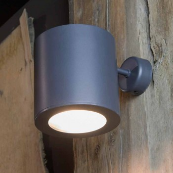 Applique da Esterno in Ferro e Alluminio con LED Incluso Made in Italy - Rango