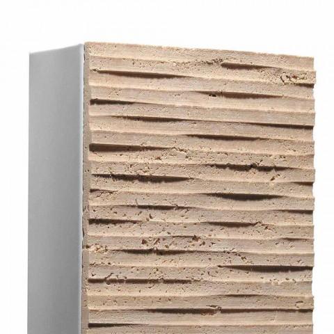 Applique esterno in pietra Serafini Marmi Petra Out, made in Italy