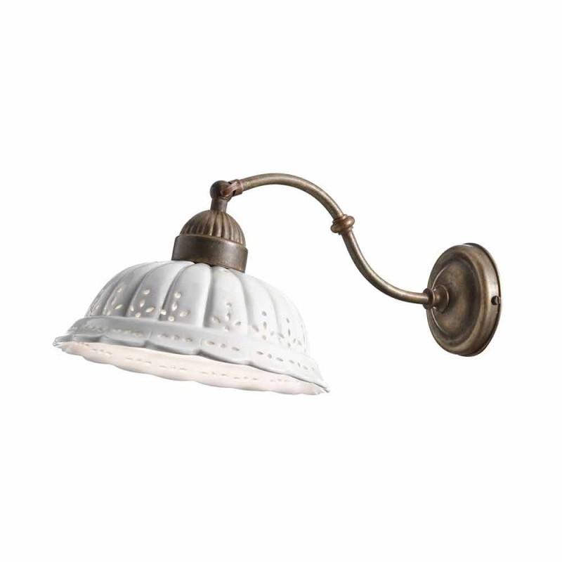 Applique stile liberty in ceramica di Bassano Anita Il Fanale
