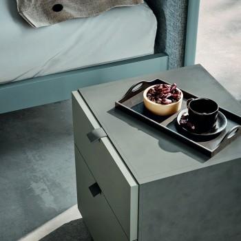 Arredamento Camera da Letto a 4 Elementi Stile Moderno Made in Italy -  Eletta