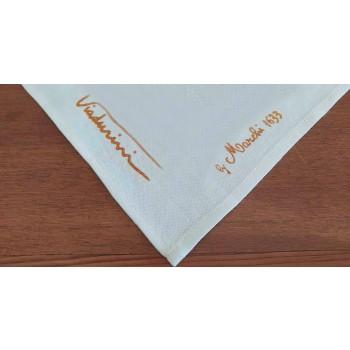 Asciugamano con Stampa Artigianale Artistica in Cotone Pezzo Unico Made in Italy
