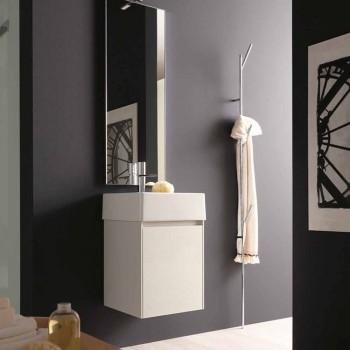 Attaccapanni da Terra di Design Moderno in Metallo Bianco o Cromo - Kottac