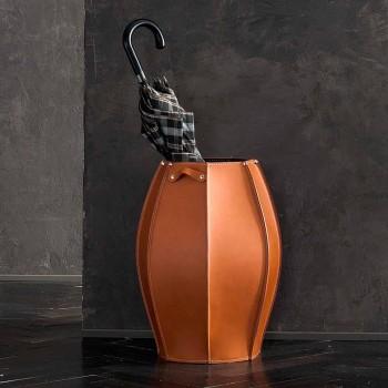 Audrey portaombrelli dal design moderno in cuoio, made in Italy