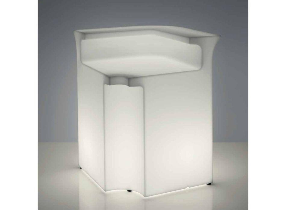 Bancone bar angolare Slide Break Corner luminoso moderno made in Italy