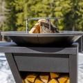 Barbecue a Legna con Piano Lavoro e Piastra - Giorgione