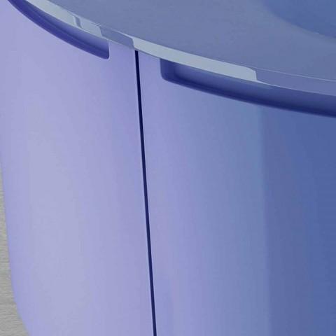 Base portalavabo sospesa a 2ante in legno Gioia, design moderno