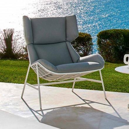 Poltrona bergère da giardino Varaschin Summer Set di design moderno