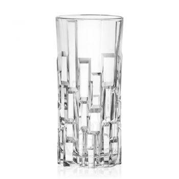 Bicchieri Alti da Bibita in Cristallo Ecologico Decorato 12 Pezzi - Catania