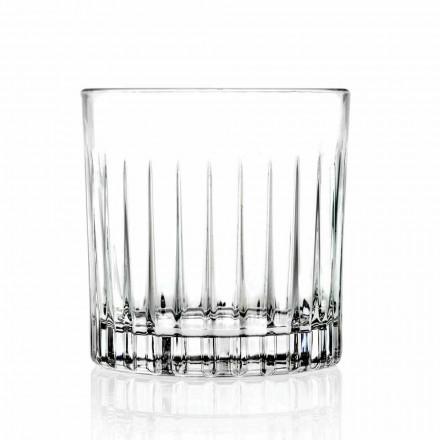 Bicchieri Double Old Fashioned Tumbler Bassi 12 Pezzi di Lusso - Senzatempo