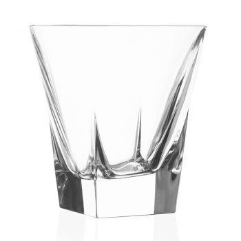 Bicchieri Tumbler Bassi Bibita in Cristallo Eco Colorato 12 Pz - Amalgama