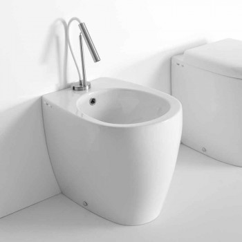 Bidet da Terra di Design Moderno in Ceramica Colorata Made in Italy – Lauretta