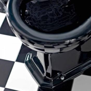 Bidet in Ceramica Bianca o Nera Classico da Terra Made in Italy - Marwa