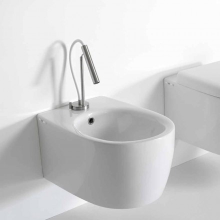 Bidet Sospeso di Design Moderno in Ceramica Colorata Made in Italy – Lauretta