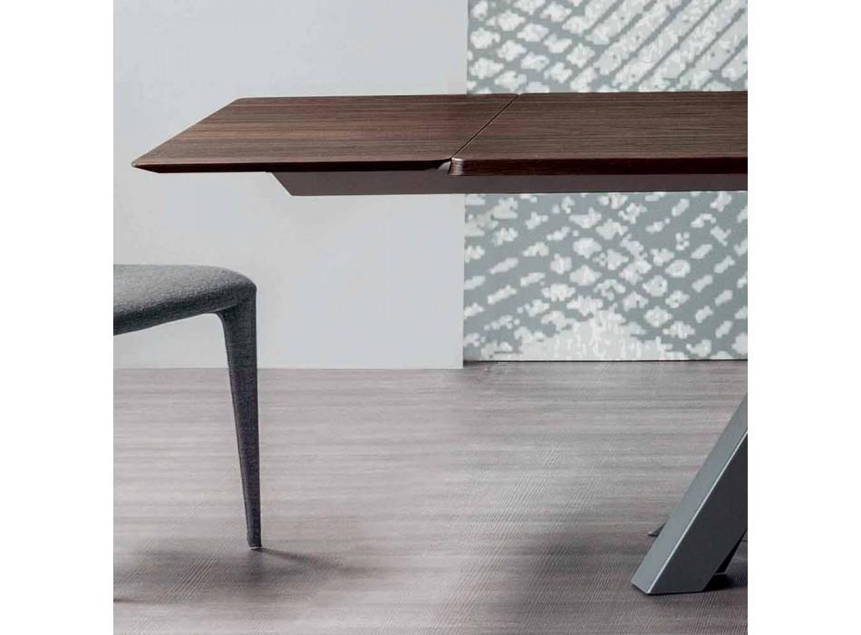 Bonaldo Big Table tavolo allungabile in legno di design made in Italy
