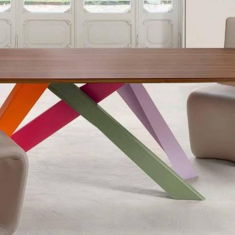 Bonaldo Big Table tavolo allungabile legno impiallacciato made Italy