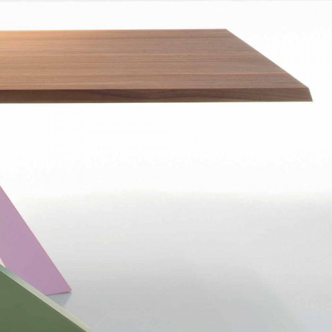 Bonaldo Big Table tavolo in legno massello noce americano made Italy