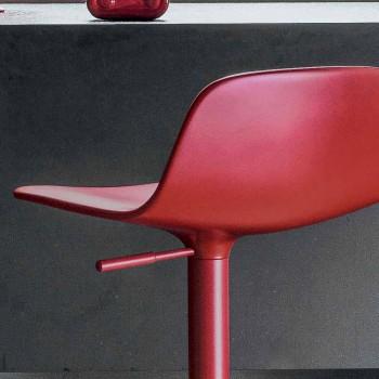 Bonaldo Bonnie sgabello girevole regolabile acciaio made Italy Bonnie