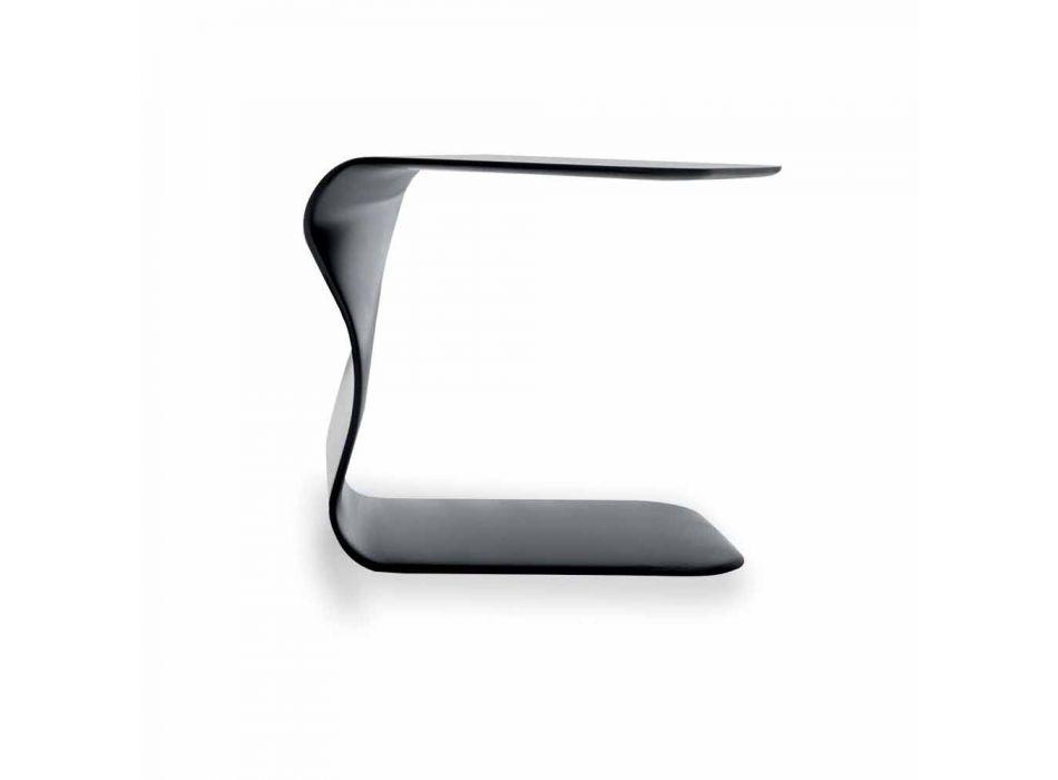 Bonaldo Duffy tavolino di design poliuretano laccato 48x60 made Italy