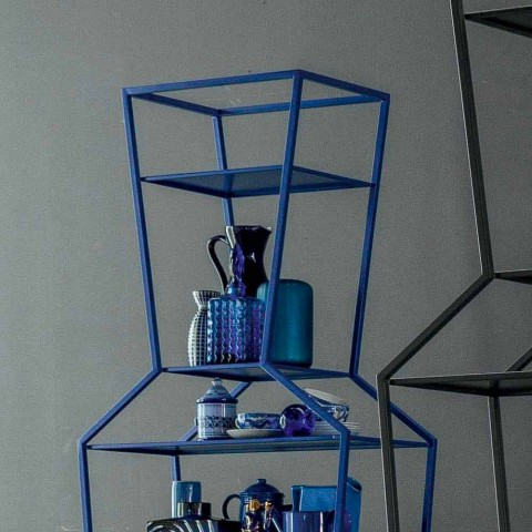 Bonaldo June libreria metallo colorato di design H190xL70cm made Italy