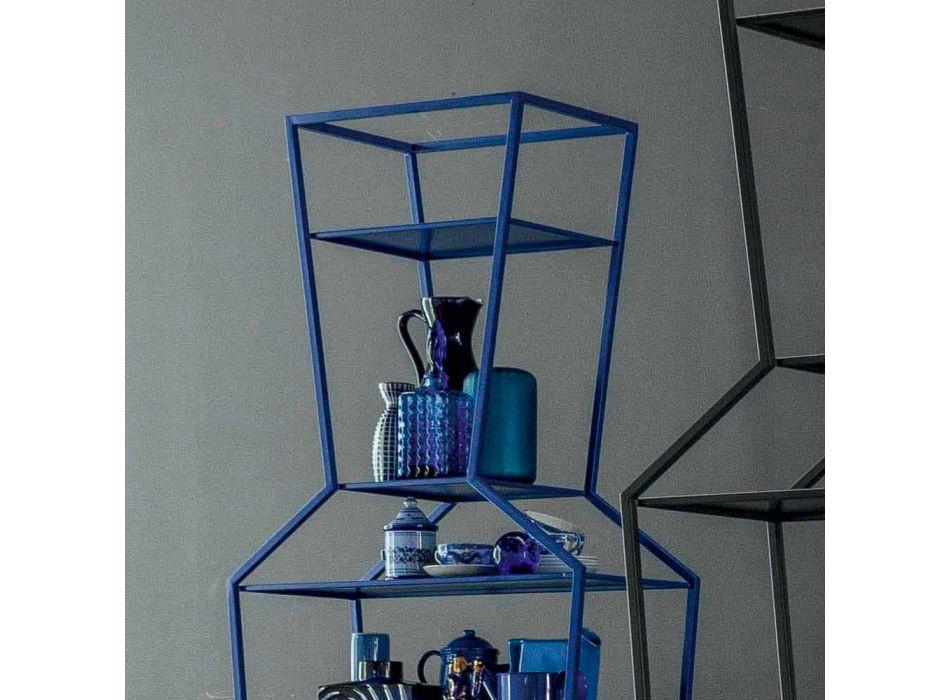 Bonaldo June libreria metallo colorato di design H190xL70cm made Italy