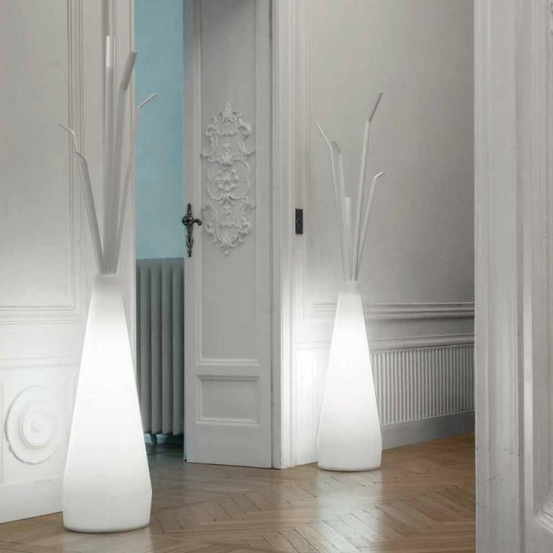 Bonaldo Kadou appendiabiti con luce di design polietilene made Italy