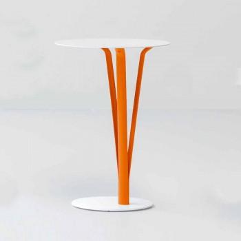 Bonaldo Kadou tavolino di design acciaio verniciato D39cm made Italy