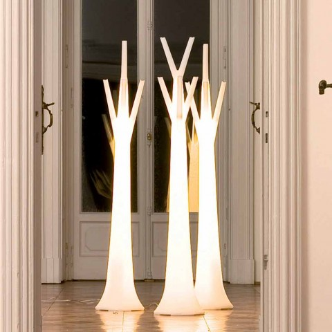 Bonaldo Tree appendiabiti con luce di design polietilene made Italy