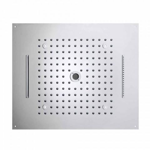 Bossini Dream soffione moderno con luci LED e quattro funzioni