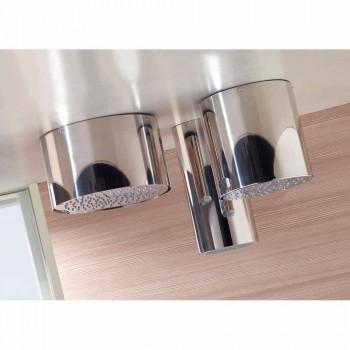Bossini Oki 200 soffione doccia dal design moderno a un getto