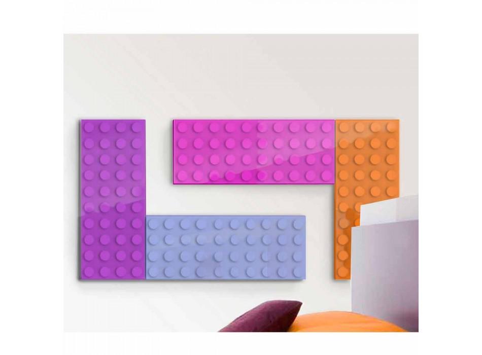 Brick radiatore lego idraulico di design made in Italy by Scirocco H