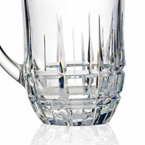 Brocche Acqua in Cristallo Ecologico Decorato Design di Lusso 2 Pezzi - Fiucco